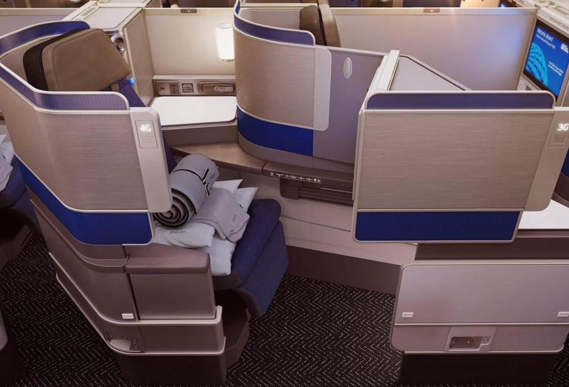 United Airlines Polaris
